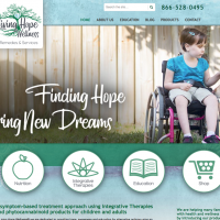 New Website Designed for Health And Wellness client in Jacksonville, FL
