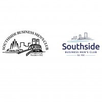 Southside Business Men's Club Logo Design - Before and After