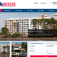 Eagle American Realty Group-Website For Panama City Realtor, James Fisher