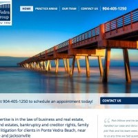 Ponte Vedra Law Group, former Wilcox Law Firm Web Design