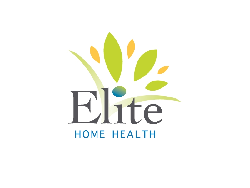 Elite Home Health Care Logo Design In Jacksonville FL