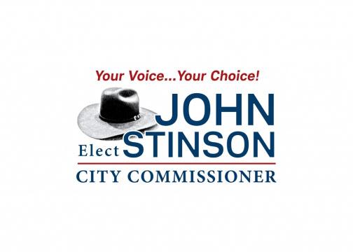 John Stinson Political logo design