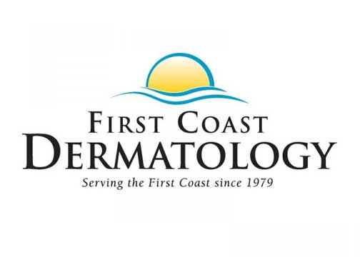 First Coast Dermatology logo design