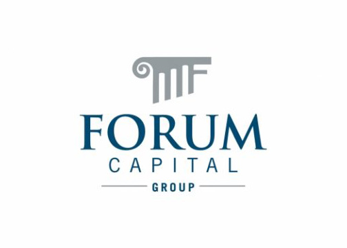 forum capital logo design jacksonville