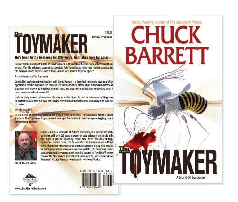 toymaker book cover design portfolio