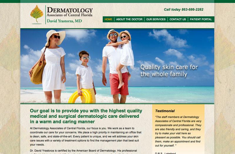 Dermatology Lakeland Yrastorza Web