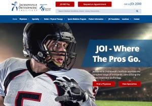 Website design Jacksonville, Florida