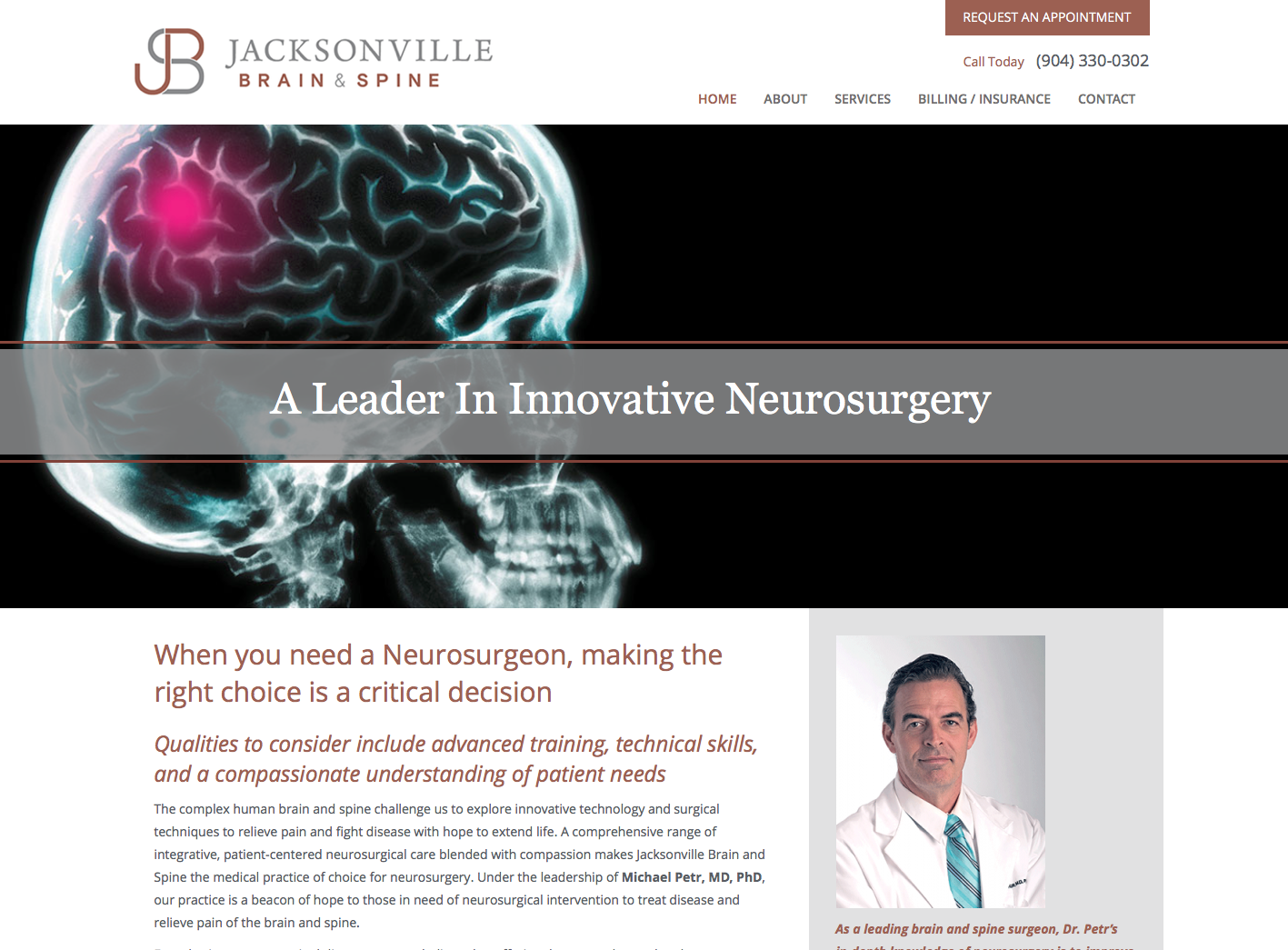Jacksonville Brain and Spine