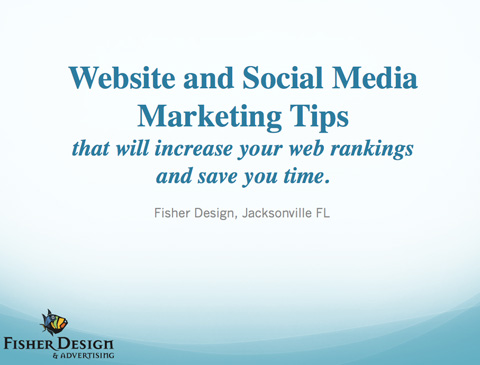 Website and social media marketing tips that will increase your web rankings and save you time