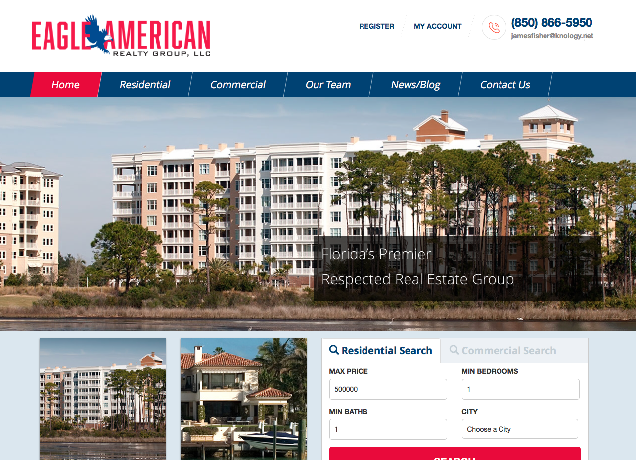 Eagle American Realty Group for realtor in Panama City, FL