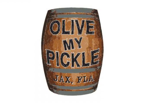 Olive My Pickle Logo Design Jacksonville