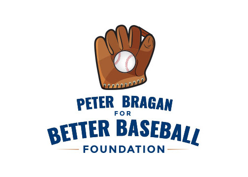 Peter Bragan for Better Baseball Foundation Logo Design