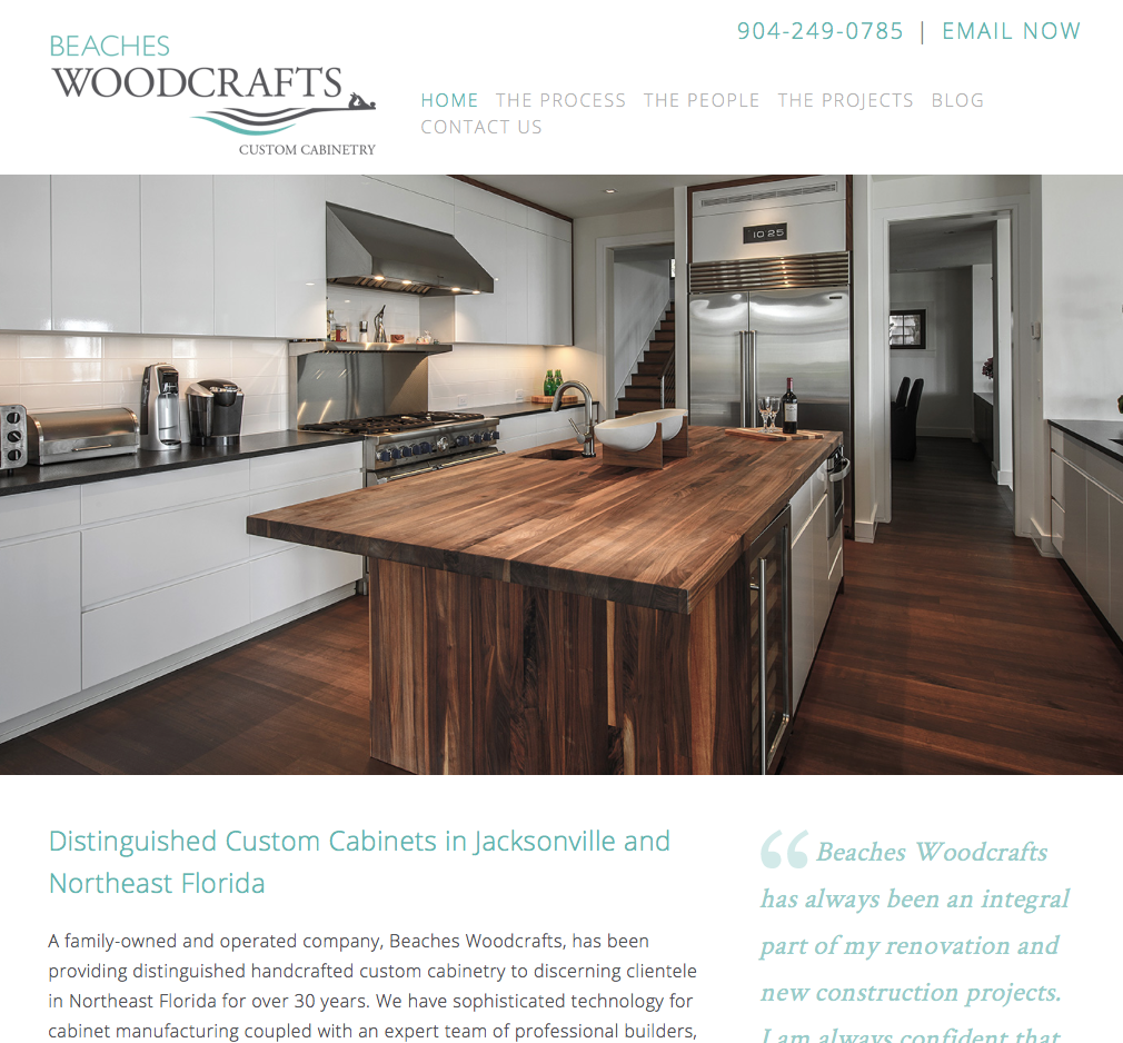 beaches woodcrafts custom cabinets