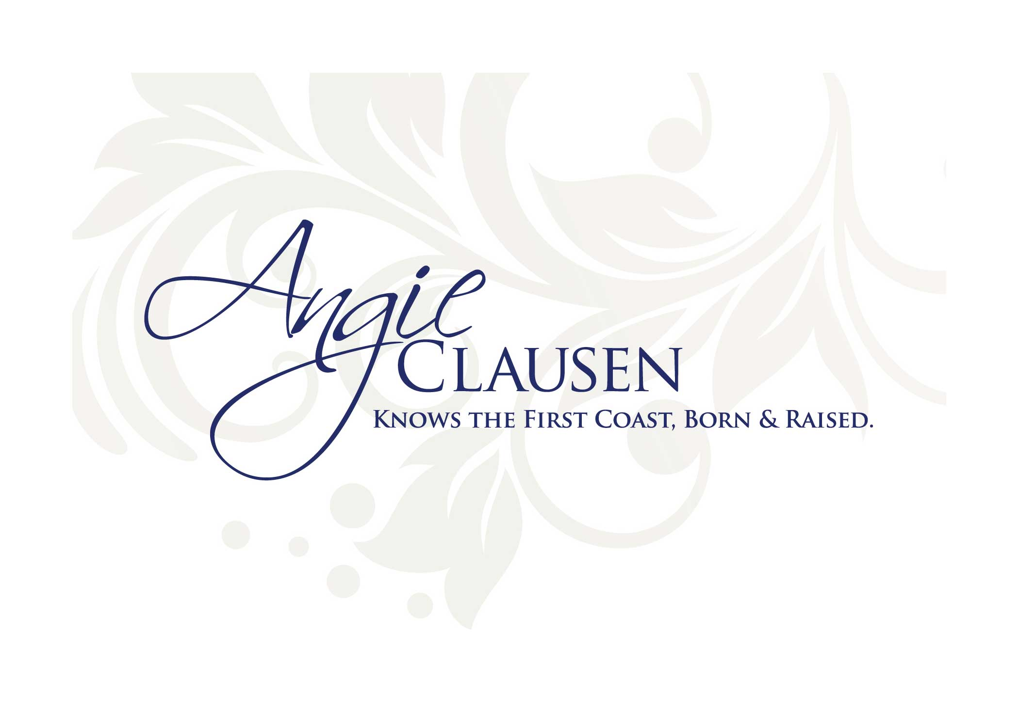 ANGIE CLAUSEN real estate Logo Jacksonville