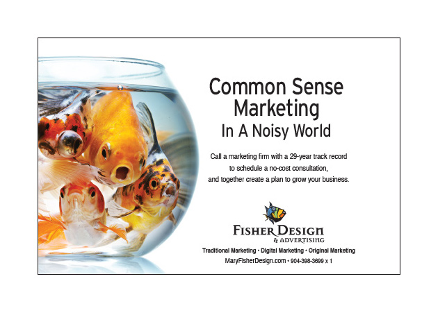 Fisher Design common sense ad 1