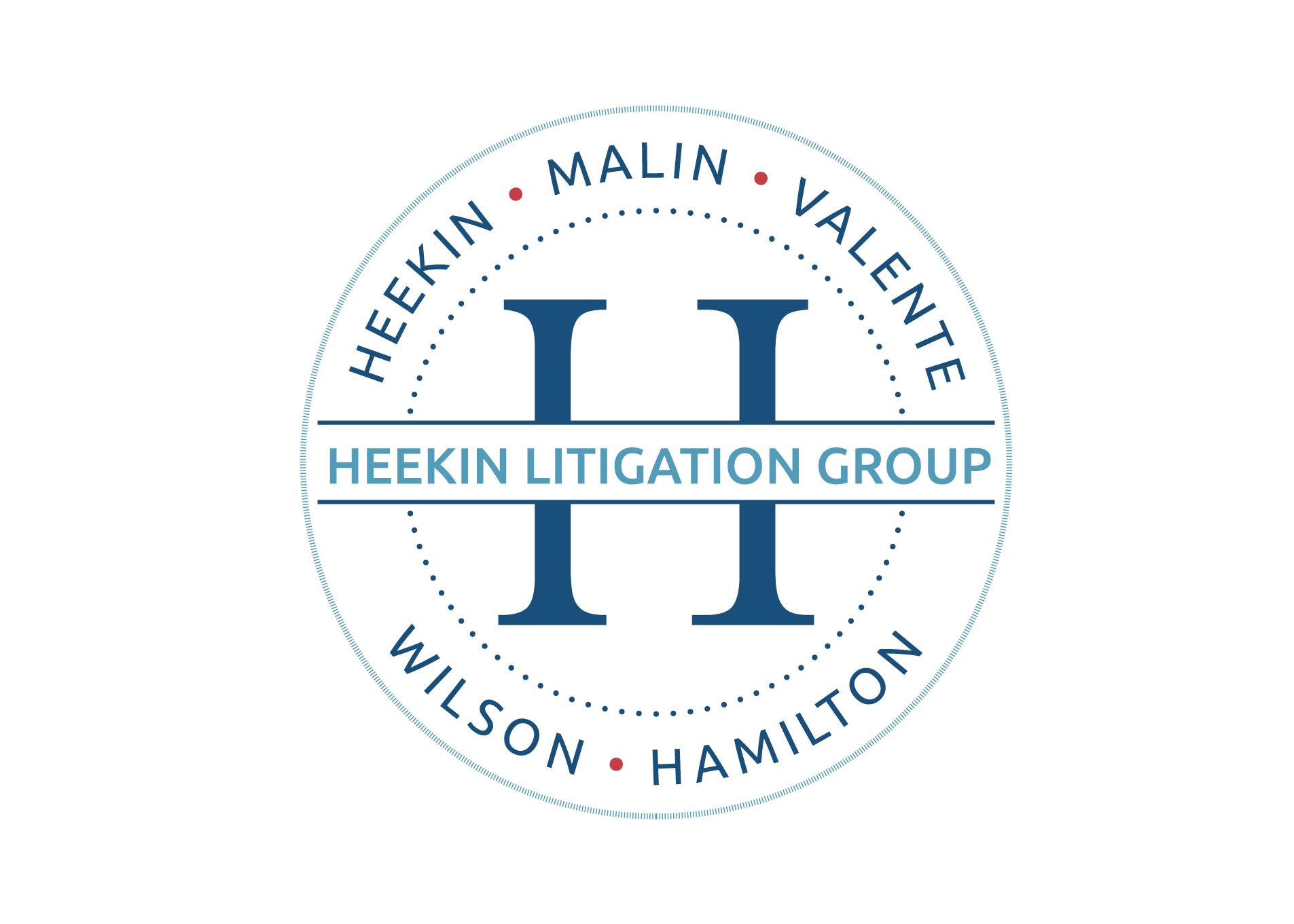 Heekin Law logo design