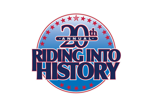 Riding Into History LOGO design 1