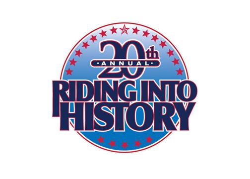 Riding Into History LOGO design 1