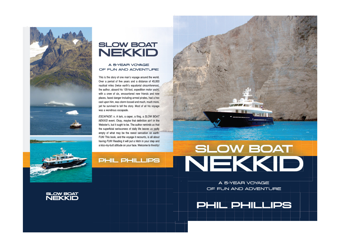 SlowBoat Nekkid Cover book cover Phillips