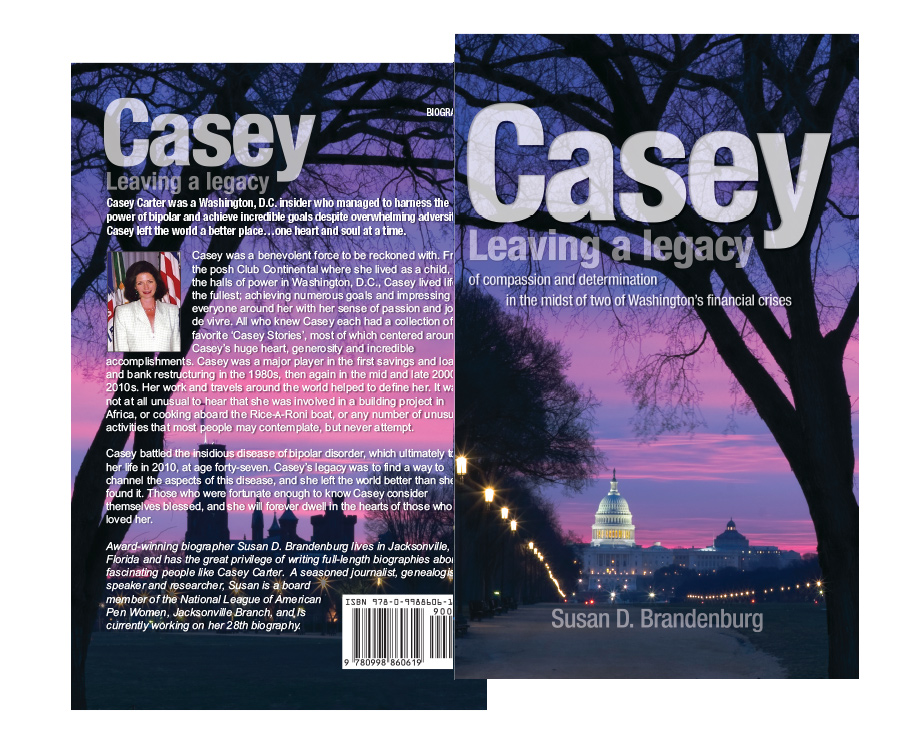 casey book cover design