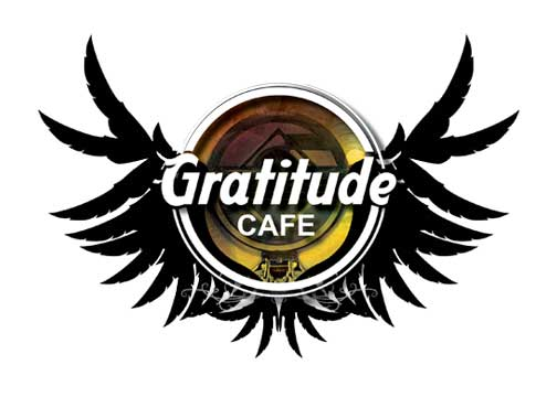 gratitude cafe Logo Design