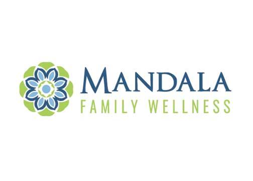 Mandala Family Wellness logo design