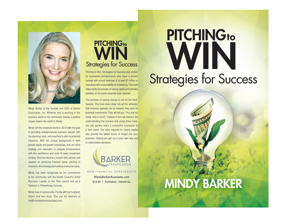 mindy barker book cover design florida graphic