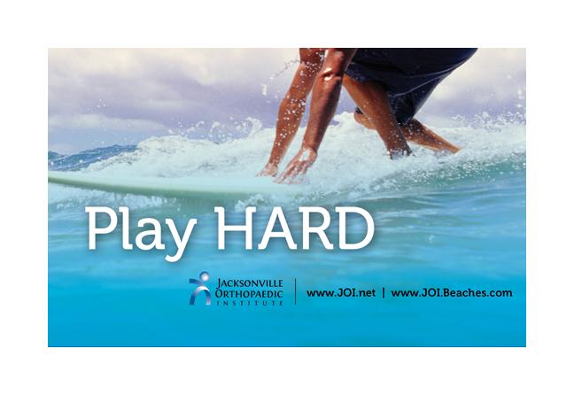 play hard ad design
