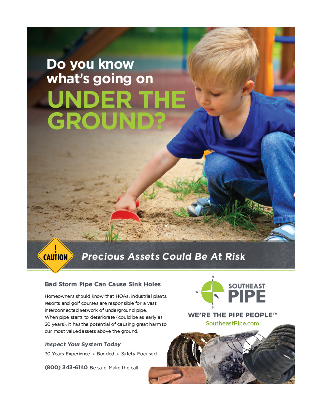 southeast pipe ad design