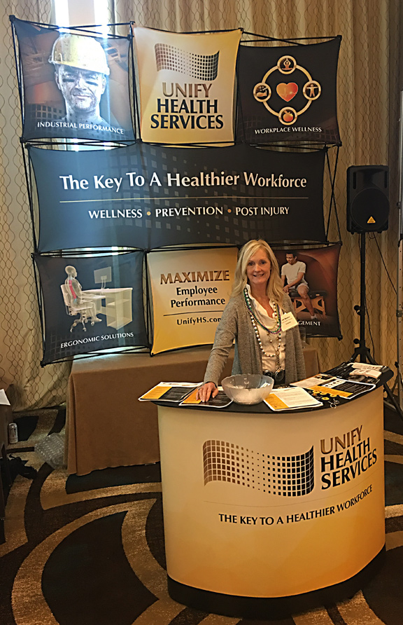 unify tradeshow booth