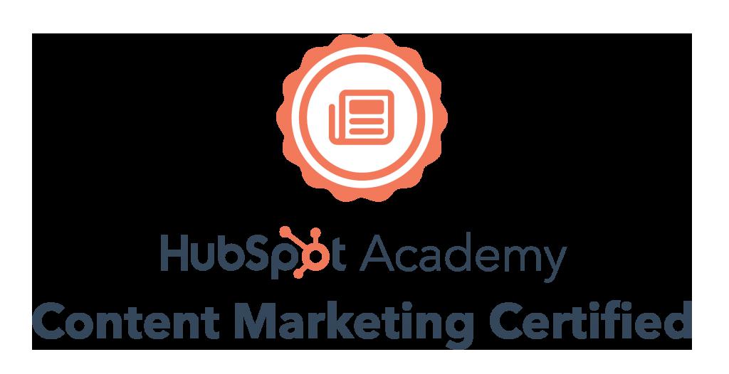 hubspot content certified