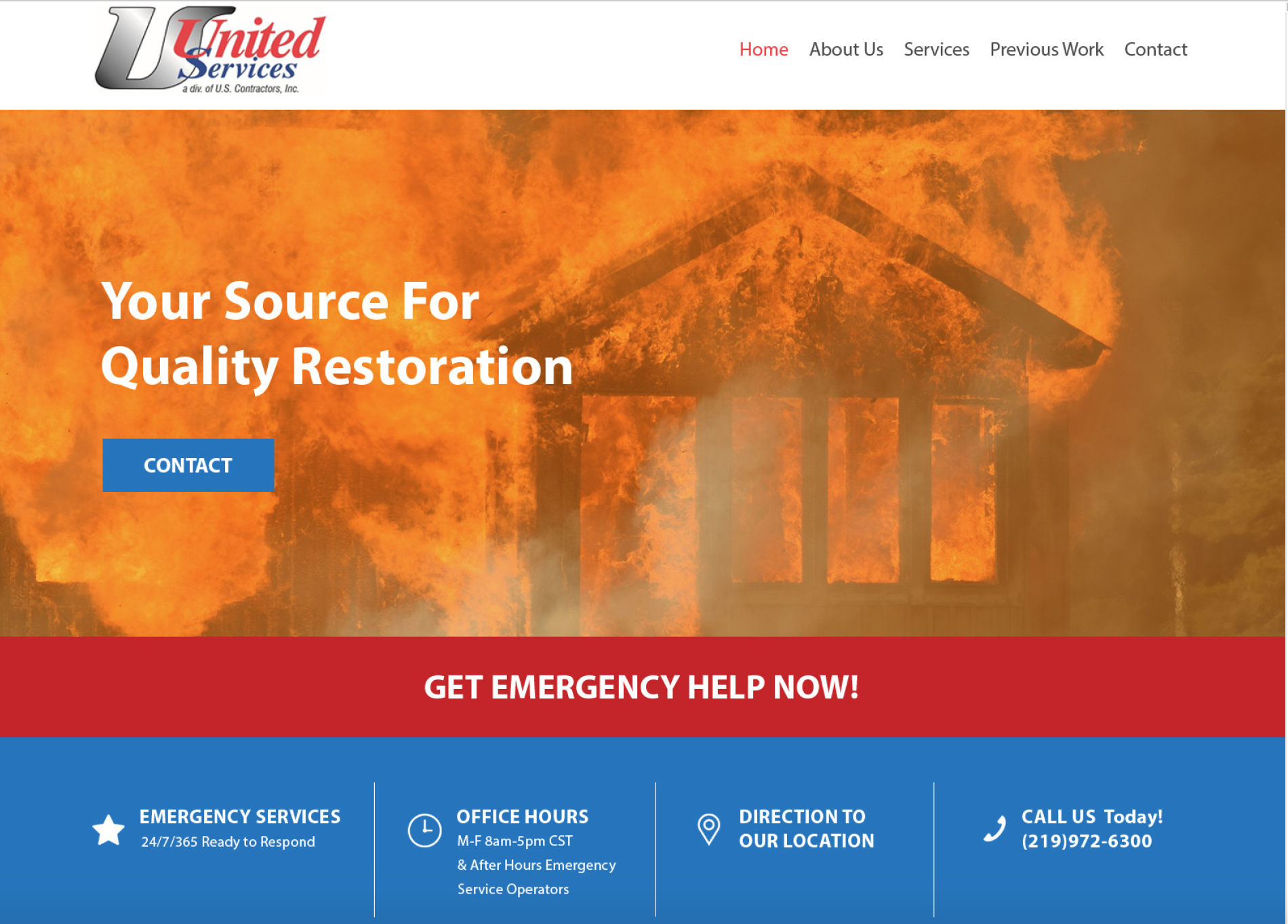 dki franchise fire restoration website marketing