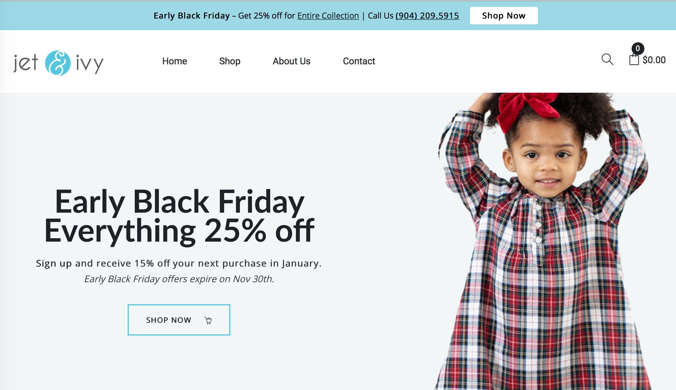 Jet Ivy childrens clothing image for blog