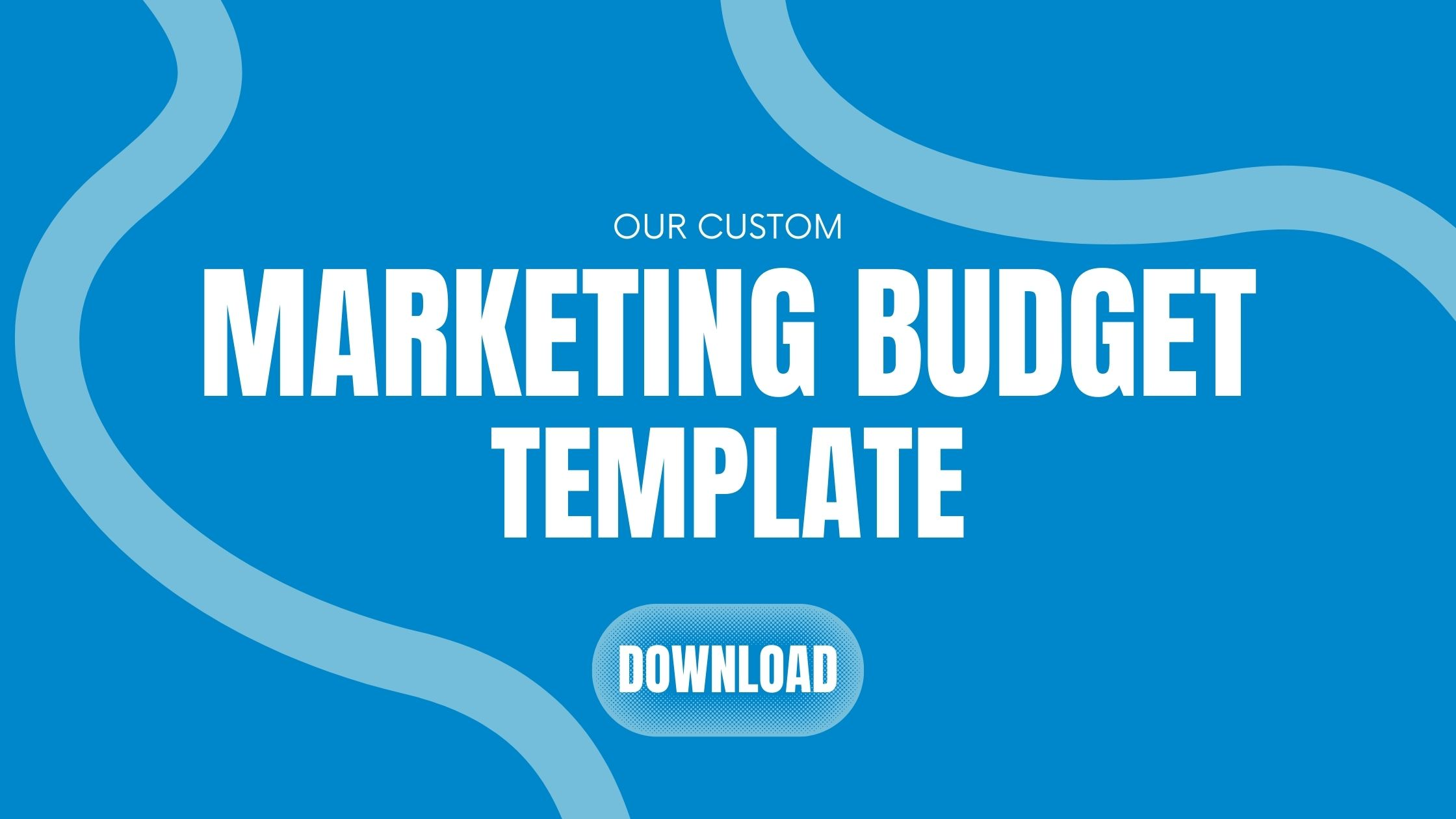 marketing budget template jacksonville