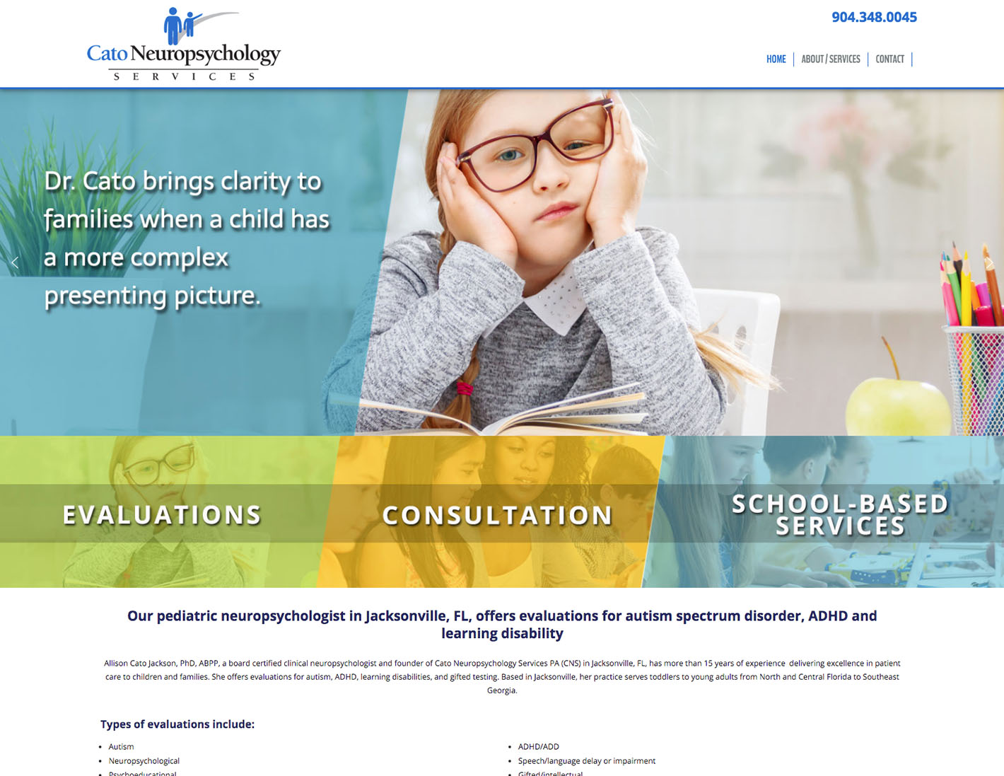 CatoNeuro Website FDA Portfolio SS
